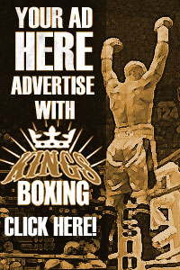 Advertise with King's Boxing